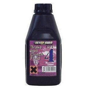 Silverhook Dot 4 Brake & Clutch Fluid - 250ml Bottle - Free Tracked Delivery - Taxi-Mart Shop