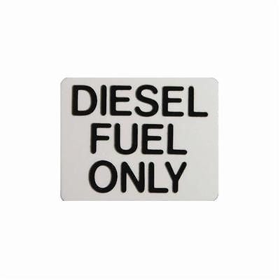 Diesel Fuel Only.... Black Sticker For Taxis, Cars, Vans, Lorries HGV - Taxi-Mart Shop
