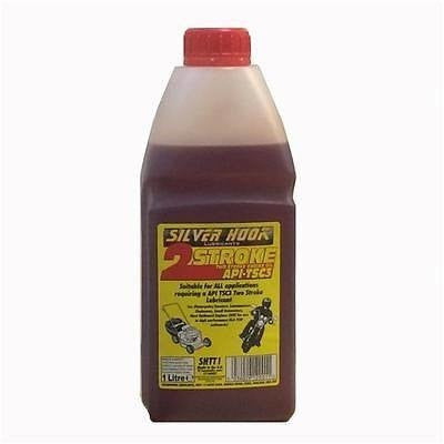 Silverhook SHTT1 2 Stroke Engine Oil/Lubricant TSC3 1 Litre - Taxi-Mart Shop