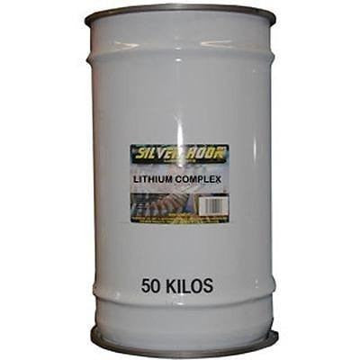 Silverhook Lithium Complex Grease - Red Lithium Grease - 50kg Drum - Taxi-Mart Shop