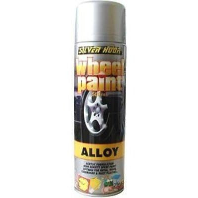 2 x Silverhook High Density Alloy Wheel Paint 500ml - Taxi-Mart Shop
