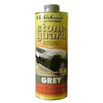 Silverhook Grey Stone Guard Heavy Duty 1 Litre Can For Schutz Gun - Taxi-Mart Shop