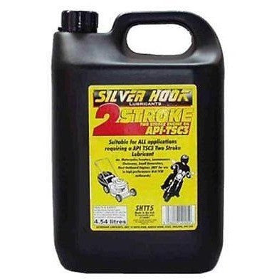 Silverhook SHTT5 2 Stroke Engine Oil/Lubricant [TC/TSC3] 4.54 Litres - Taxi-Mart Shop