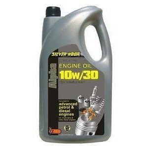 Silverhook 10w/30 Alpha High Performance Engine Oil For Advanced Engines 4.54 Litres - Taxi-Mart Shop