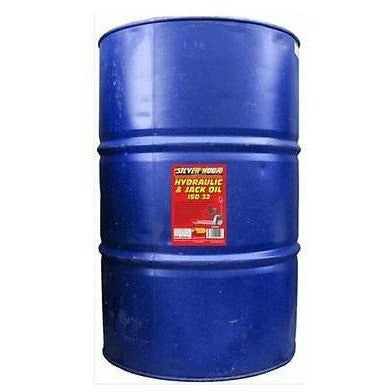 Silverhook SHRH9 ISO 32 Hydraulic Oil For Trolley Jacks/Compressors 205 Litres - Taxi-Mart Shop