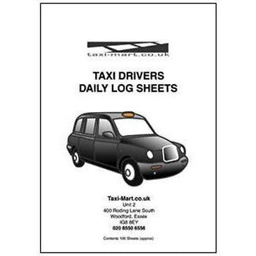 Taxi Driver/Taxi Office Daily Log Sheets/Log Book A5 - Taxi-Mart Shop