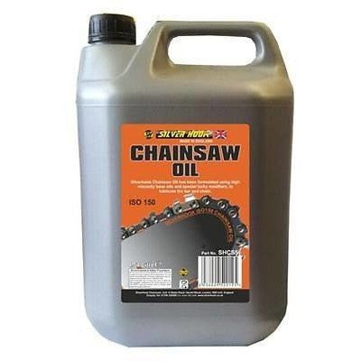 Silverhook Low Fling Heavy Duty Chainsaw Oil ISO 150 For All Chainsaws 4.54L - Taxi-Mart Shop