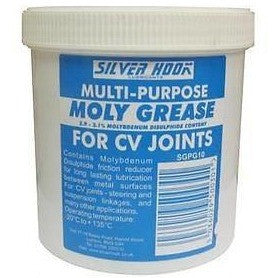 12 x Silverhook Moly Grease - CV Joint Grease 500g Tub - Molybdenum Disulphide Grease - Taxi-Mart Shop