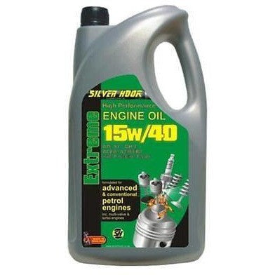 Silverhook 15W/40 Extreme High Performance Multigrade Engine Oil 4.54 Litres - Taxi-Mart Shop
