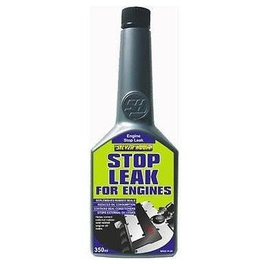 2 x Silverhook Engine Stop Leak Reduces Oil Consumption+Replenishes Seals 325ml - Taxi-Mart Shop