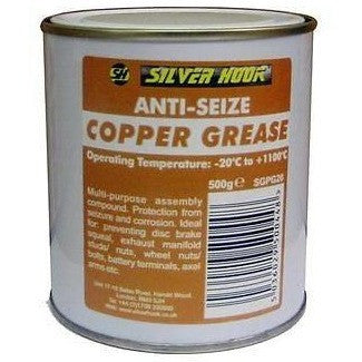 12 x Silverhook Copper Grease 500g High Temperature Anti-Seize Paste - Taxi-Mart Shop
