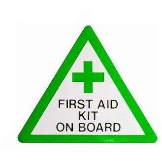 First Aid Kit On Board.... Taxi Sticker - Taxi-Mart Shop