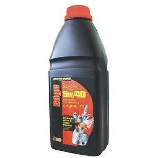 5w/40 Edge Fully Synthetic High Performance Multigrade Oil SL/CF 1 Litres - Taxi-Mart Shop