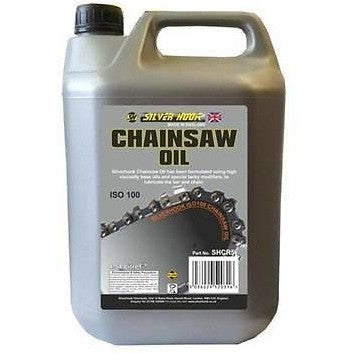 Silverhook Chainsaw Oil For Bar And Blade All Saws 4.54 Litre Low Fling [ISO 100] - Taxi-Mart Shop