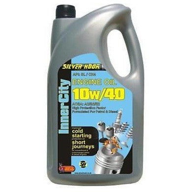 Silverhook 10w/40 Inner City Engine Oil Petrol & Diesels Engines 4.54 Litre Can - Taxi-Mart Shop