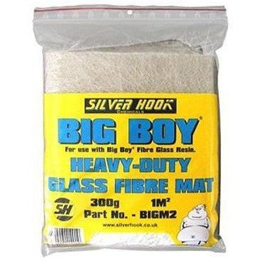 Silverhook Big Boy Heavy Duty Glass Fibre Mat 300g - Size 1.0m² - Taxi-Mart Shop