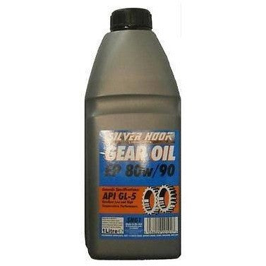 Silverhook EP 80w/90 Gear Oil  API GL-5 Spec - 1L - Free Tracked Delivery - Taxi-Mart Shop
