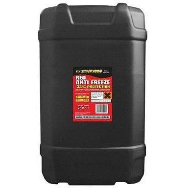 Silverhook Ready Mixed Red Antifreeze -33° [OAT] 25 Litre Drum [SHBR6] - Taxi-Mart Shop