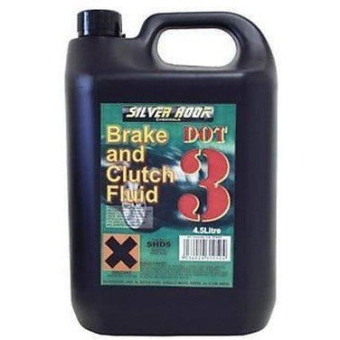 Dot 3 Brake & Clutch Fluid 4.54 Litre Can - Free Tracked Delivery - Taxi-Mart Shop
