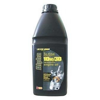 Silverhook 10w/30 Alpha High Performance Engine Oil For Petrol & Diesel 1 Litre - Taxi-Mart Shop