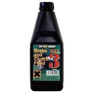 Dot 3 Brake & Clutch Fluid - 1 Litre Bottle - Free Tracked Delivery - Taxi-Mart Shop