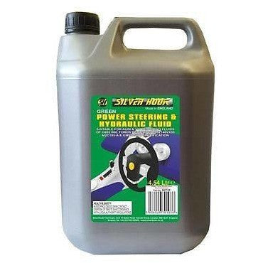 Silverhook SHTV5 [Green] Hydraulic & Power Steering Fluid For VW/Audi G002.000 - 4.54L - Taxi-Mart Shop