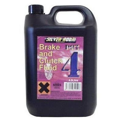 Silverhook Dot 4 Brake & Clutch Fluid - 4.54 Litre - Free Tracked Delivery - Taxi-Mart Shop