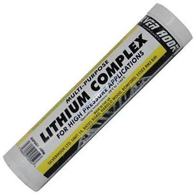 Silverhook Lithium Complex Grease - Red Lithium Grease 400g Cartridge - Taxi-Mart Shop