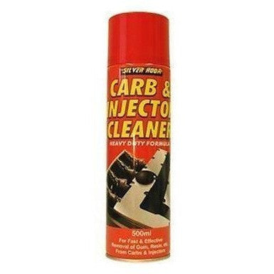 12 x Silverhook Carburettor & Injector Cleaner/Carb Cleaner - 500ml With Applicator - Taxi-Mart Shop