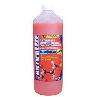 Silverhook Concentrated Red Antifreeze & Summer Coolant [OAT] 1 Litre Bottle [SHAR1] - Taxi-Mart Shop