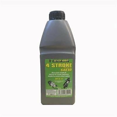 Silverhook SHMA1 4 Stroke SAE30 Motorcycle Engine Oil 1 Litre Bottle - Taxi-Mart Shop