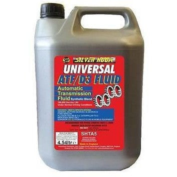 Silverhook SHTA5 Universal Synthetic Transmission Fluid D3 [ATF] 4.54 Litres - Taxi-Mart Shop