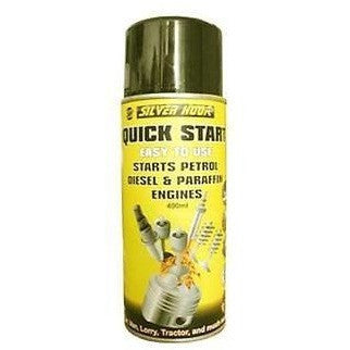 Silverhook Quick Start!! - Helps Start Petrol & Diesel Engines 400ml - Taxi-Mart Shop