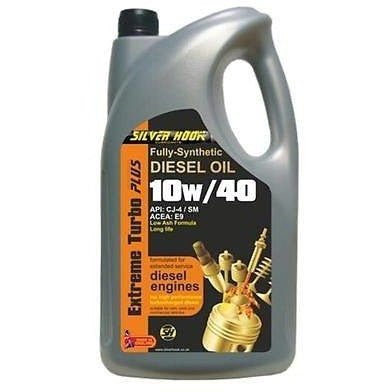 Silverhook 10w/40 Extreme Turbo Plus Engine Oil Fully Synthetic 4.54 Litres - Taxi-Mart Shop