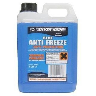 Silverhook Ready Mixed Blue Antifreeze & Summer Coolant 2 Litre -36°C Protection (SHB2) - Taxi-Mart Shop