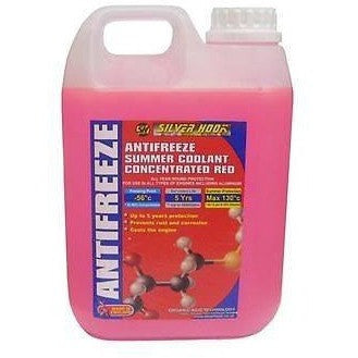 Concentrated Red Antifreeze & Summer Coolant [OAT] - 2 Litre Bottle [SHAR2] - Taxi-Mart Shop