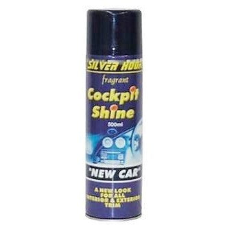 Silverhook New Car Aroma Silicone Cockpit Shine 500ml - Taxi-Mart Shop