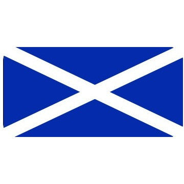 Saltire Flag Sticker - Taxi-Mart Shop