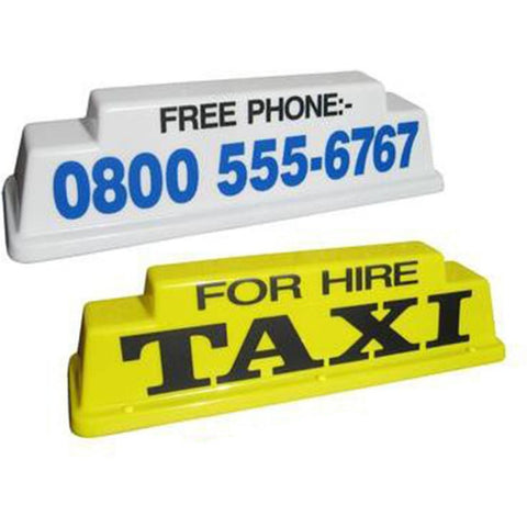 "24"" Raised Taxi Roof Sign - Taxi-Mart Shop"