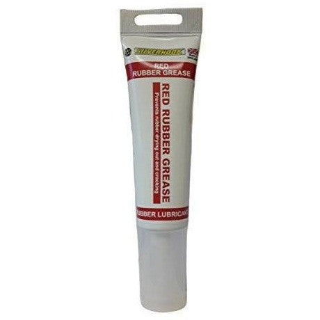 Silverhook SGPGT80 Red Rubber Grease Tube 80ml - Taxi-Mart Shop