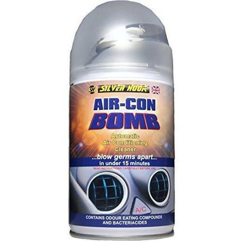 12 x Silverhook SGAC4 Air-Con Bomb Automatic Air Conditioning Cleaner 150 milliliter - Taxi-Mart Shop