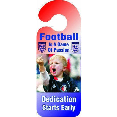 Football Is A Game Of Passion Door Hanger Sign ... - Taxi-Mart Shop