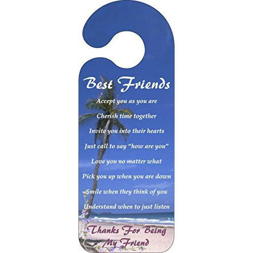 Best Friends Door Hanger Sign ... - Taxi-Mart Shop