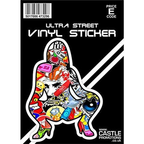 Castle Promotions Stickerbomb Model Decal ... - Taxi-Mart Shop