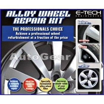 E-Tech Car Complete Alloy Wheel Refurbishment Repair Professional Kit - Taxi-Mart Shop