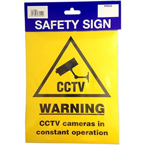 Castle CCTV Large Warning Sticker - Taxi-Mart Shop