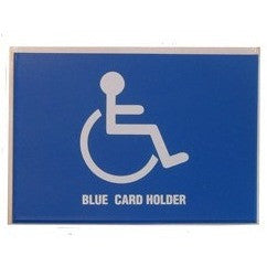 Blue Badge Holder For Windscreens - Taxi-Mart Shop