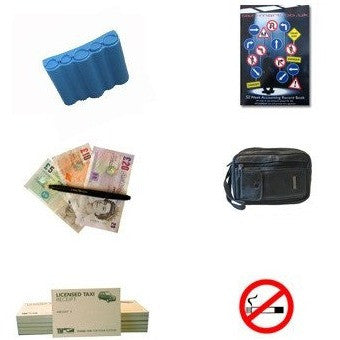 Cab Driver's Starter Pack 'B' - For Taxi And Mini Cab Drivers - Taxi-Mart Shop