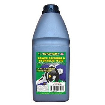 Silverhook SHTV1 [Green] Hydraulic & Power Steering Fluid For VW/Audi G002.000 - 1L - Taxi-Mart Shop