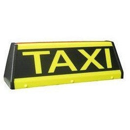 "18"" Angle Taxi Roof Sign - Taxi-Mart Shop"